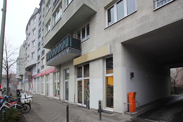 Moderne Erdgeschoss Gewerbefläche im Neubau Berlin